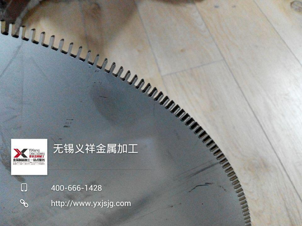 6mm不锈钢齿轮激光切割加工