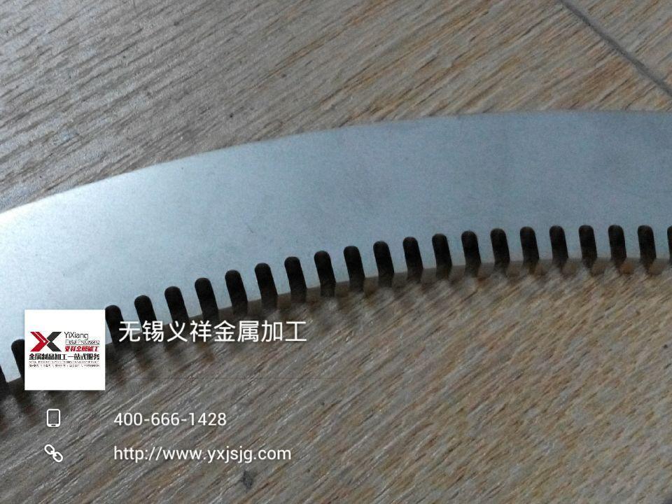 6mm不锈钢齿轮激光切割加工2