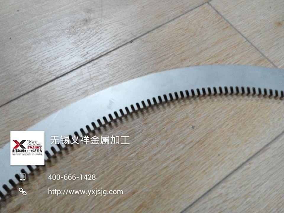 6mm不锈钢齿轮激光切割加工4
